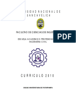Plan Curricular 2010-2014
