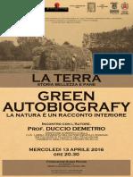 Duccio Demetrio - Green Autobiography