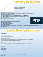 useful poetry resources