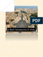 6 Best Museums in Italy