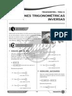 T S13 Funciones Trigonometricas Inversas