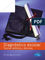 Diagnostico Escolar Teorias, Ambitos y Tecnicas