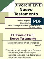 el divorcio en el nuevo testamento