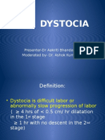 Dystocia Obstetrics
