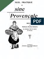 Manuel pratique de cuisine provençale - recueil des meilleures recettes culinaires des principaux.pdf