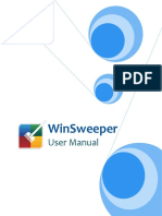 WinSweeper User Guide