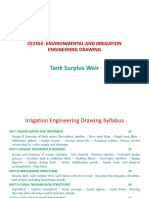 Ce2355- Environmental and Irrigation Engineering Drawing