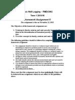 Homework 5, Porosity