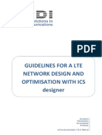 LTE Guidelines in ICS Designer v1.3