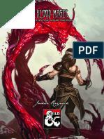 (5E) Blood Magic Arcane Supplement