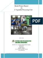 Medium Fruit and Vegetable Processing Unit 260814