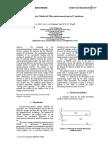 Quasi-static Model of Microelectromechanical Cantilever