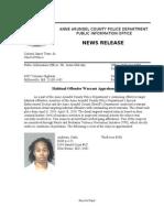 Habitual Offender Warrant Apprehension Detail
