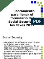 Asesoramiento Para El Social Security Taxes