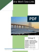 Group 5 - Bandra Worli Sea Link.docx