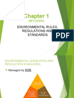 Chapter 1b - Environmental Rules & Regulations Malaysia