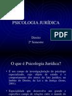 PJ Aula 02 - Psicologia Jurídica