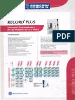Me II 305 Catalogo Accionamientos General Electric