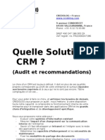 Solution CRM Credolog