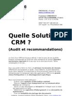 Solution CRM Credolog