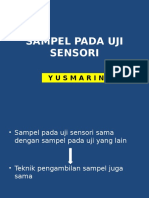 3. Sampel Pada Uji Sensori