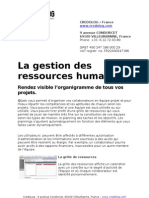 Attask Optimiser Gestion Ressources Humaines Credolog