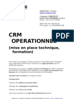 CRM Operationnel Credolog