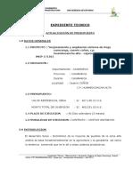 Memoria Descriptiva Abril 2014 Coñor-canal