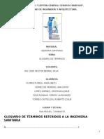 Glosario de Terminos de Ing Sanitaria