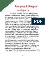 Fair Play in Football