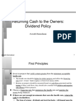dividN PPT on corporate finance