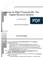 capstrN ppt on Corporate Finance