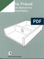 Anna Freud - Ben Ve Savunma Mekanizmaları