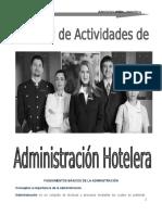 Guia Administración Hotelera