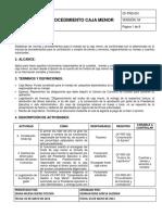 CF-PRD-001 PROCEDIMIENTO DE CAJA MENOR.pdf