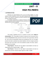 Unit-4 High Polymers