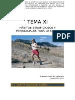 Tema 11. Los Hábitos Higiénicos y La Salud