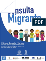 Primera Consulta Migrante
