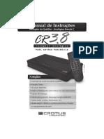 Manual Receptor Cromus CR 3 8