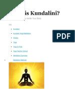 what is kundalini