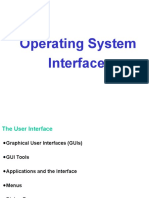 Operating System User Interface