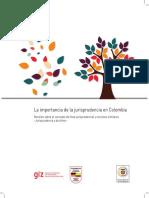 La Importancia Jurisprudencia en Colombia (1)