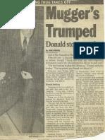 Mugger's Trumped - Donald Trump Stops Attack