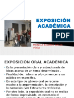 EXPOSICIÓN ACADEMICA
