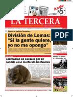 Diario La Tercera 30.03.2016