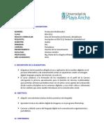 PEH 05912 Produccion Multimedia I