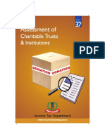 Assessment of Charitable Trust and Institution
