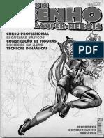 Metodo de Desenho Mangas e Super Herois Desconhecido