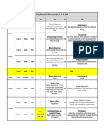 Scholars Course for Aipmt 2016 Schedule
