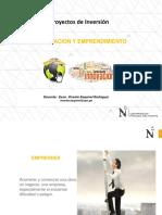Innovacion y Emprendimiento